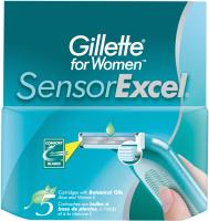Сменные кассеты Gillette Sensor Excel (5шт) -