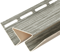 Угол для сайдинга Docke Lux внутренний (3м, канадская береза) -