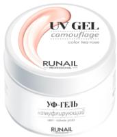 Моделирующий гель для ногтей RuNail Камуфлирующий УФ-гель №3749 (56г) -