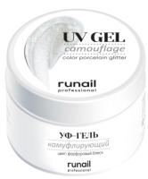 Моделирующий гель для ногтей RuNail Камуфлирующий УФ-гель №6101 (30г) -
