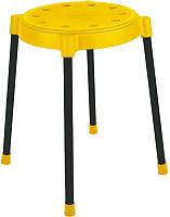 Табурет Sheffilton SHT-S36 / 883096 (желтый/черный) -