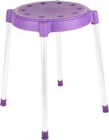Табурет Sheffilton SHT-S36 / 833372 (фиолетовый/серый) -