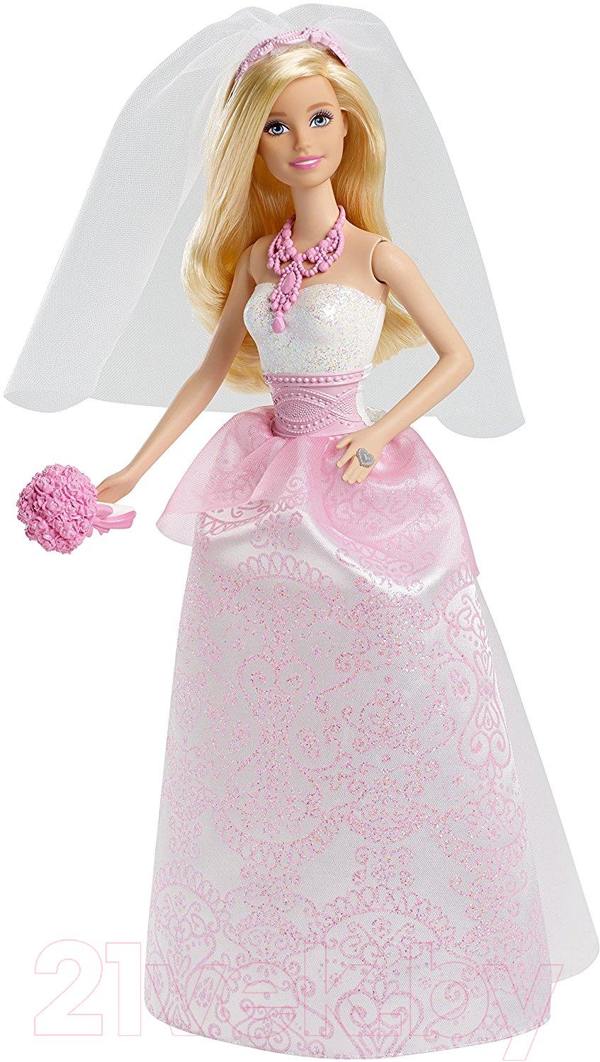 Купить Кукла Barbie, Невеста / CFF37, Китай, пластик