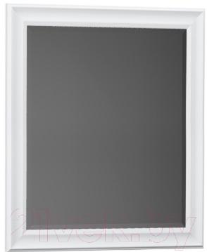 Купить Зеркало для ванной Belux, Женева В70 (1, белый), Беларусь