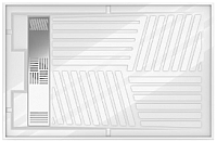 Душевой поддон Belux Опера ДП-130 -