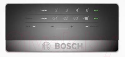 Холодильник с морозильником Bosch KGE39AW33R