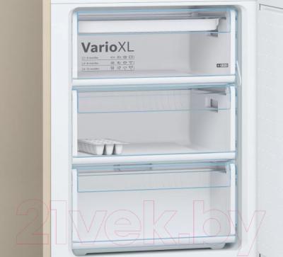 Холодильник с морозильником Bosch KGE39XK21R