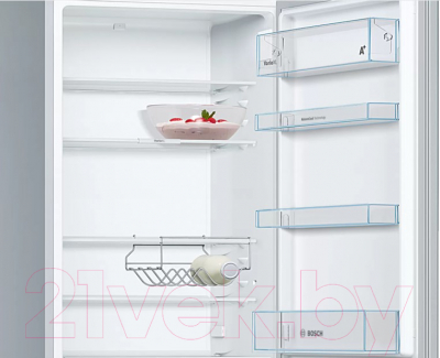 Холодильник с морозильником Bosch KGE39XL21R