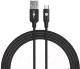 Кабель Akami Mizumi Series Micro USB (черный) -