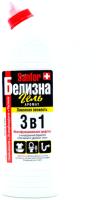 Универсальное чистящее средство Sanfor Белизна гель Лимонная свежесть (700мл) -