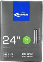Камера для велосипеда Schwalbe AV10 40/62-507 24х1.5-2.4 40мм / 10421310 -