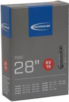 Камера для велосипеда Schwalbe SV15 18/28-622(630) 28х0.7-1.0 40мм / 10427143.01 -