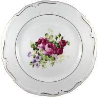Тарелка закусочная (десертная) Cmielow i Chodziez Maria Tereza / G255-0M30990 (роза садовая) -
