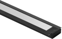 Профиль для светодиодной ленты Elektrostandard LL-2-ALP007 (черный/белый) -