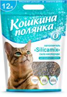 Наполнитель для туалета Кошкина Полянка Silicamix Сила кислорода / 0497 (12л) -