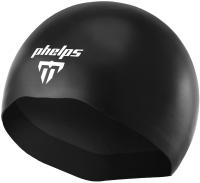 Шапочка для плавания Phelps X-O2 Cap / SA194EU0101M (M, черный) -