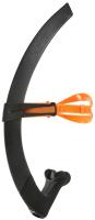 Трубка для плавания Phelps Focus / SN265EU0108L (M, черный/оранжевый) -