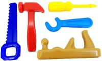 Набор инструментов игрушечный Макси Золотые ручки / 10330 -