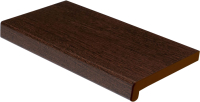 Подоконник VPL Премиум с заглушкой 150x2500 (венге) -