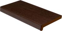 Подоконник VPL Премиум с заглушкой 350x1600 (венге) -