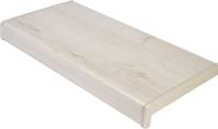 Подоконник VPL Премиум с заглушкой 150x650 (белый дуб) -