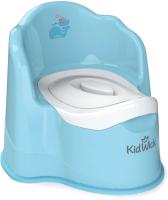 Детский горшок Kidwick Королевский / KW080204 (голубой) -