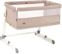 Детская кровать-трансформер Nuovita Accanto Calma (xаки лен) -
