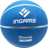 Баскетбольный мяч Ingame Champ (размер 7, синий) -