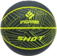 Баскетбольный мяч Ingame Shot №7 (черный/желтый) -