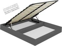 Ящик бельевой для кровати Мебельград Под подъемный механизм 140x200 (графит) -