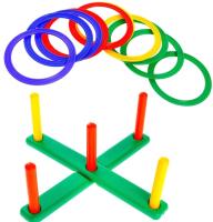 Игра кольцеброс Юг-пласт Кольцеброс со столбиком / 7003 -