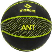 Баскетбольный мяч Ingame Ant №7 (черный/желтый) -