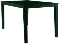 Стол пластиковый Ellastik Plast Прованс Прямоугольный 140x80x70 (темно-зеленый) -