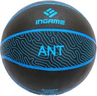 Баскетбольный мяч Ingame Ant №7 (черный/синий) -