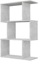 Стеллаж Polini Kids Home Smart Фигурный 3 секции / 0002271.75 (бетон) -