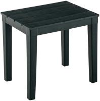Кофейный столик садовый Ellastik Plast Прованс 40x30x37 (темно-зеленый) -