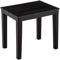 Кофейный столик садовый Ellastik Plast Прованс 40x30x37 (шоколадный) -