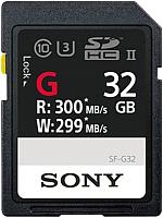 Карта памяти Sony UHS-II 32Gb (SF32G) -