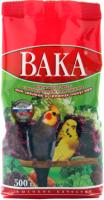 Корм для птиц ВАКА Для попугаев с минералами и овощами (500г) -
