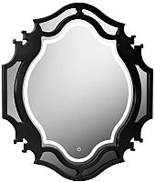 Зеркало Belux Кастилия В90 (16, черный глянец) -