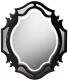 Зеркало для ванной Belux Кастилия В90 (16, черный глянец) -
