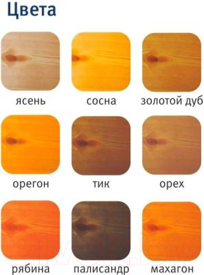 Защитно-декоративный состав Тэкотекс Палисандр (7.6кг)
