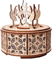 Музыкальная шкатулка Wood Trick Танцующие балерины / 1234-S8 -