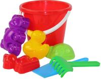 Набор игрушек для песочницы Альтернатива Зоопарк №2 / М1954 -