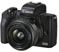 Беззеркальный фотоаппарат Canon EOS M50 Mark II EF-M 15-45mm IS STM Kit / 4728C007 (черный) -
