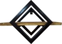 Полка Грифонсервис СН7 ромб (черный/палисандр) -