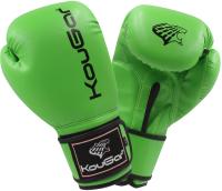 Боксерские перчатки KouGar KO500-8 (8oz, зеленый) -