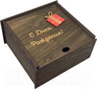 Коробка подарочная Woodary 3121 (15x15x5) -