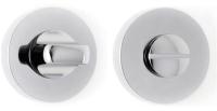 Фиксатор дверной защелки VELA Prima WC-Round (хром) -