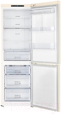 Холодильник с морозильником Samsung RB30A30N0EL/WT